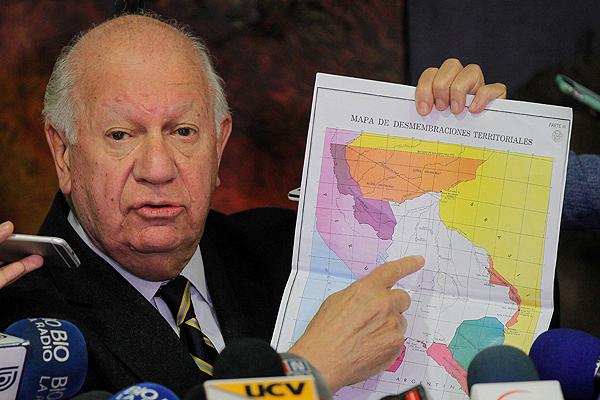 Resultado de imagen de Ricardo Lagos mapa a Bolivia