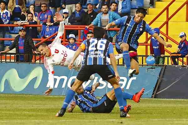 La brutal falta que ocasionó una impactante lesión a Sebastián Ubilla en la U