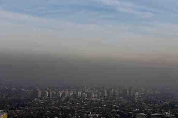 Primera alerta ambiental del año en la capital: restricción para patentes 0 y 9