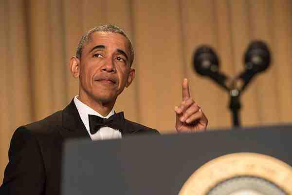 Obama bromea sobre su vida después de la presidencia y la candidatura de Trump
