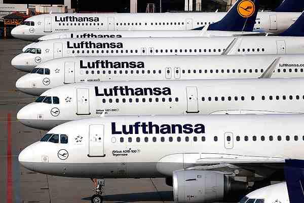 Aerolínea alemana Lufthansa suspende temporalmente sus vuelos a Caracas