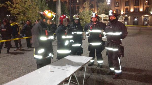 Bomberos encuentra a persona fallecida al interior de Catedral Metropolitana