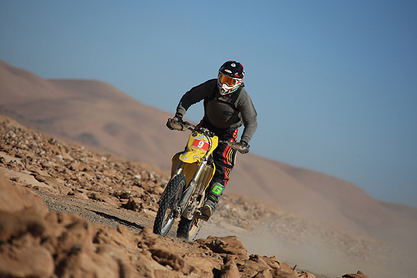Jeremías Israel se coronó como campeón del Rally Desafío del Desierto en Iquique