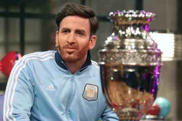 "Kramer imita a Messi en pelea por el rating contra ""Vértigo"" y ""Sres. Papis"""