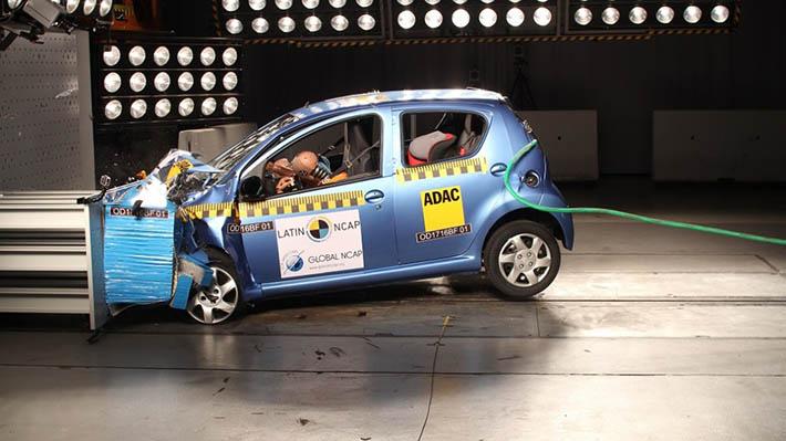 Latin NCAP pone malas notas a modelos de Fiat y BYD
