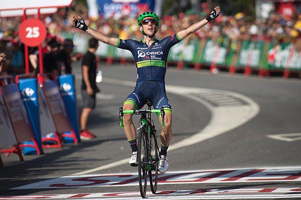 Yates sorprende al Movistar, pero Atapuma se aferra al liderazgo en la Vuelta a España