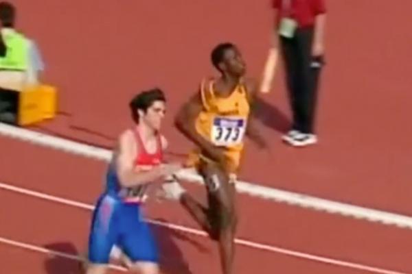 """Kael Becerra, el ex atleta chileno que corrió contra Bolt: """"Era bien despelotado, pero un fenómeno"""""""