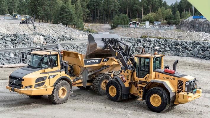 Los vehículos autónomos llegan a la construcción