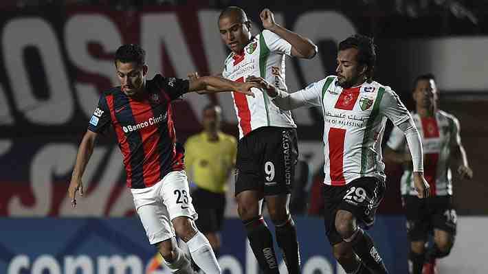 Palestino cayó ante San Lorenzo y se complica el sueño de seguir avanzando en la Copa Sudamericana