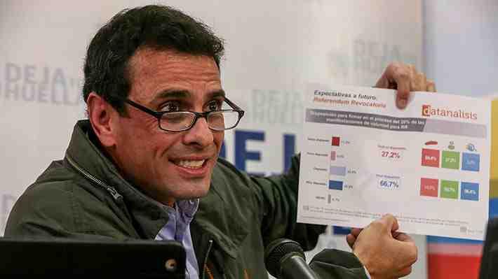 """Oposición convoca a """"toma de Venezuela"""" este miércoles ante freno del revocatorio"""