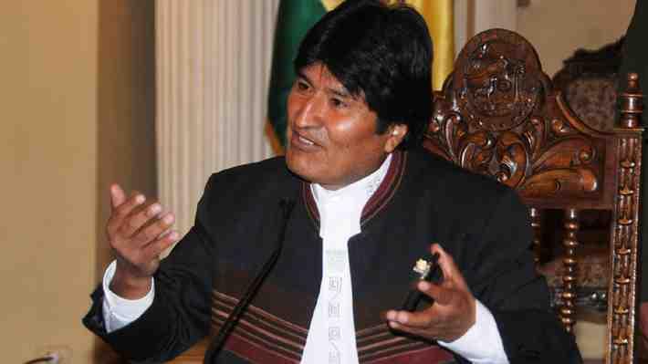 Evo Morales denunció bloqueo a transportistas bolivianos en la frontera con Chile