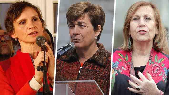 El dispar reconocimiento de la derrota de Tohá, Errázuriz y Molina