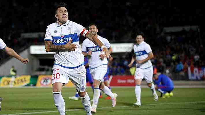 Católica despierta para lograr un infartante empate con la U y avanzar a semifinales de Copa Chile