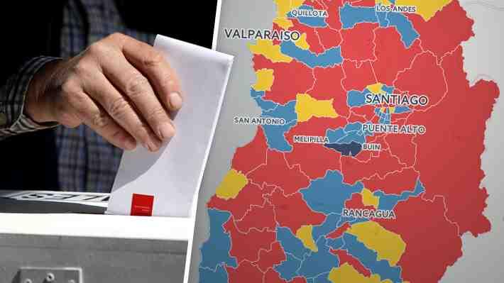 Mapa interactivo: La distribución geográfica de las fuerzas políticas tras las municipales
