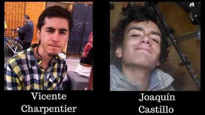Vicente y Joaquín, los estudiantes de ingeniería que se perdieron en el cerro Provincia