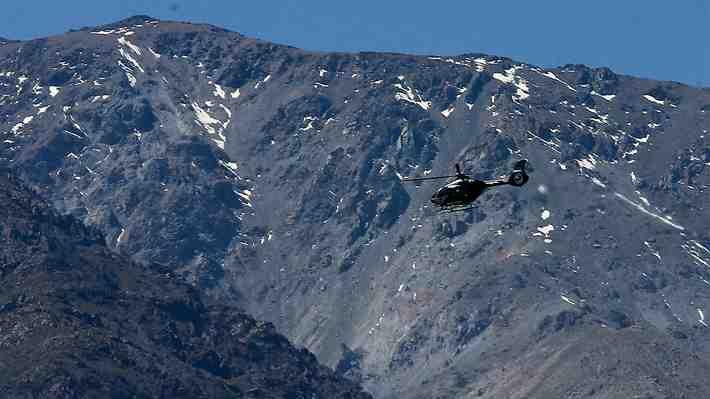 Cronología de los 12 días de búsqueda  de Vicente Charpentier y Joaquín Castillo en el cerro Provincia