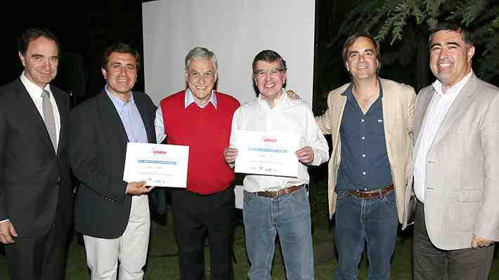 Sin Ossandón, Piñera festeja en su casa con centenar de invitados triunfo de Chile Vamos en municipales