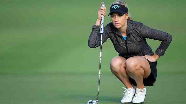 Los espectaculares trucos con que la golfista Paige Spiranac arrasa en el mundo