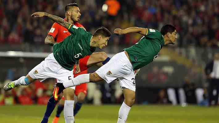 """Rivales de la """"Roja"""" están molestos por la posible resta de puntos a Bolivia en Clasificatorias"""