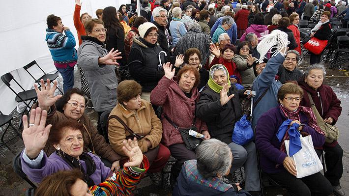 Congreso despacha proyecto que eleva en casi $10 mil las pensiones básicas solidarias