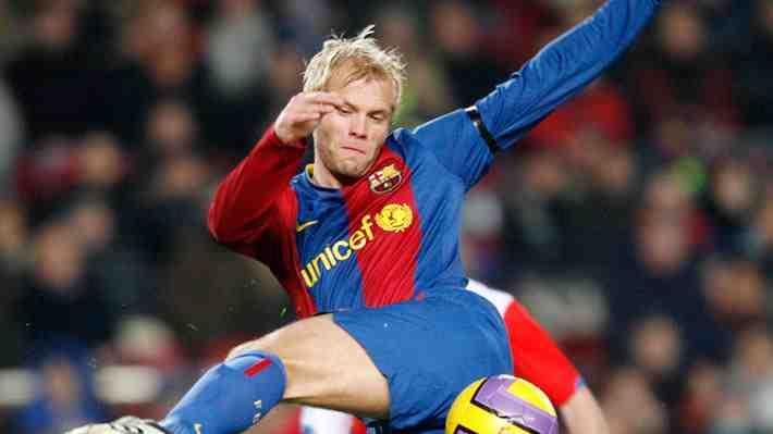 Gudjohnsen se ofrece públicamente para jugar por el Chapecoense junto a Ronaldinho