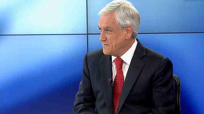 """Piñera dice que no tiene """"temor"""" de aparecer vinculado en mails de Bancard entregados a Fiscalía por inversiones en Perú"""