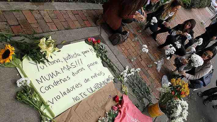 Repudio en Colombia genera la violación y el asesinato de niña de siete años