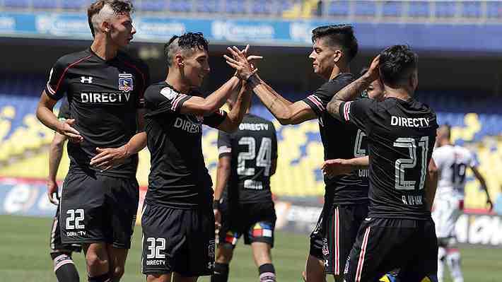 """La """"patrulla juvenil"""" le responde a Guede y Colo Colo cierra el Apertura derrotando a Palestino"""