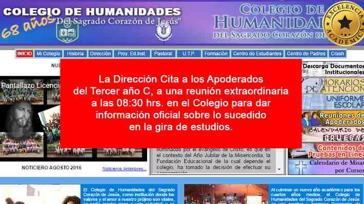 Accidente de tránsito en Bariloche deja a 12 escolares chilenos lesionados