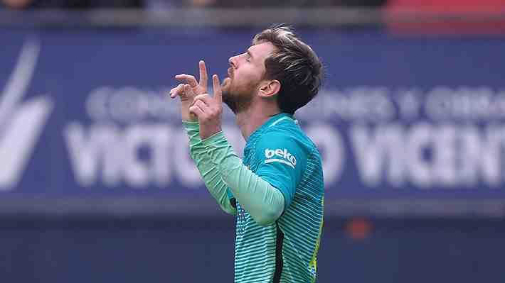 """El aplaudido fair play de Messi ante el Osasuna que aseguran """"nunca haría Cristiano Ronaldo"""""""