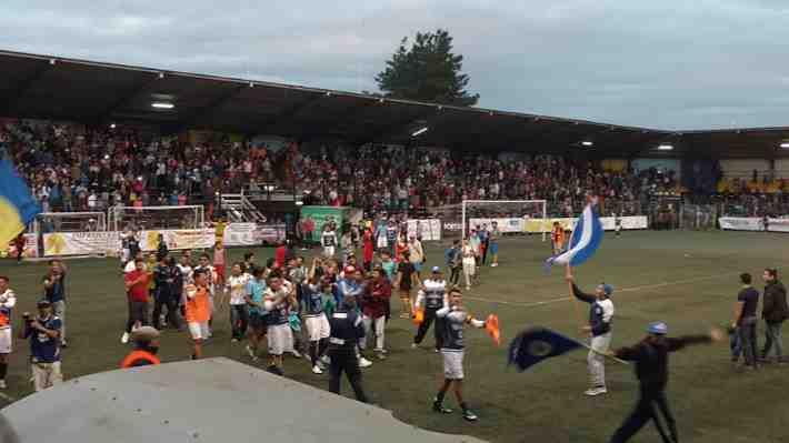Provincial Osorno vence a Recoleta y sube a la Segunda División Profesional