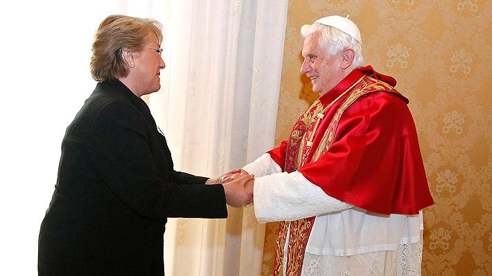 Benedicto XVI: Bachelet