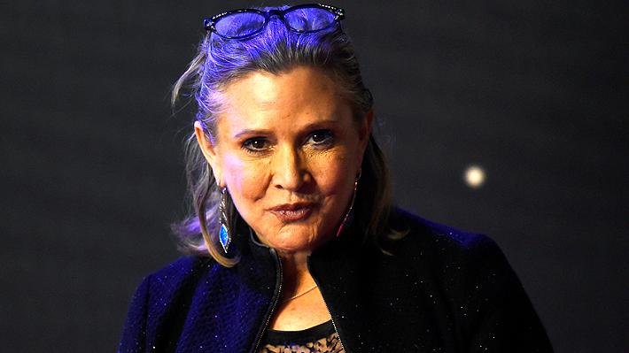 Adiós, Princesa: A los 60 años muere la actriz Carrie Fisher