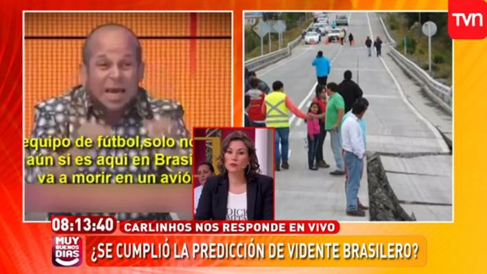 Tras polémica, TVN señala que dichos de Carlinhos se