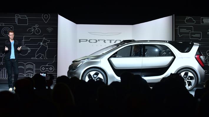 Fiat Chrysler presenta un prototipo de automóvil pensado