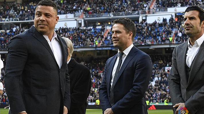 Michael Owen se burló de la gordura de Ronaldo: