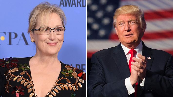 Donald Trump responde a Meryl Streep:
