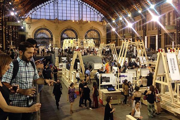 Sexta Bienal de Diseño en la Estación Mapocho