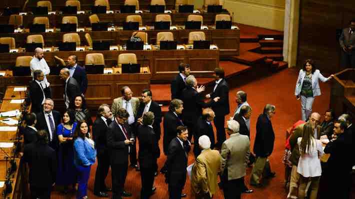 Sesión suspendida de la Cámara: Las excusas de los diputados