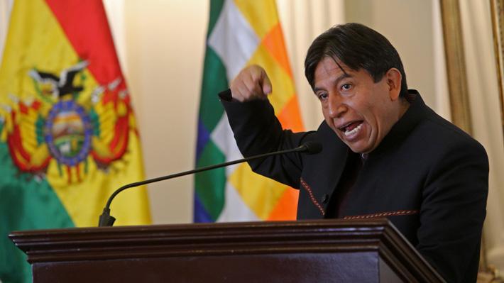 Bolivia: Choquehuanca deja la Cancillería y es reemplazado por Fernando Huanacuni