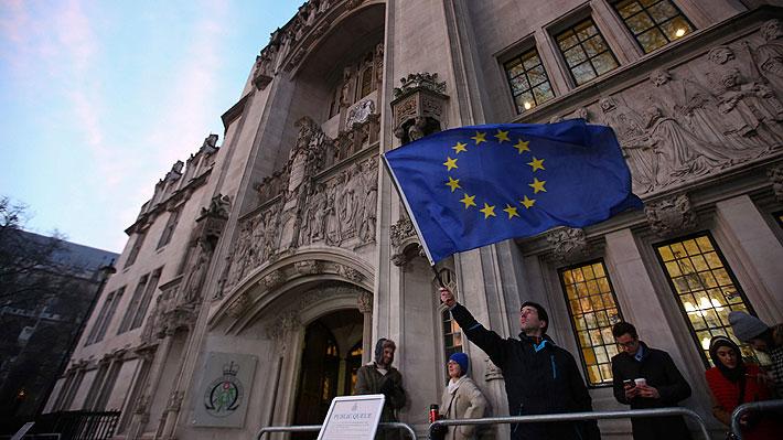 Tribunal Supremo británico dictamina que es el Parlamento el que debe autorizar el Brexit