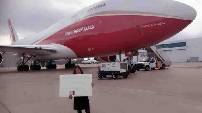 Chilena ofrece financiar operación del avión antincendios más grande del mundo ¿qué opinas?
