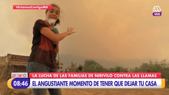 Matinales centran sus esfuerzos en informar estado de incendios forestales