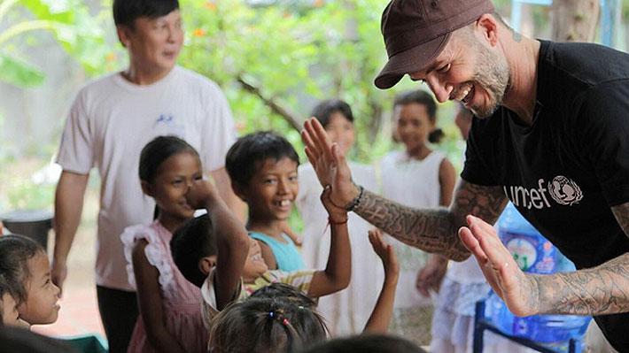 Correos electrónicos revelarían el real objetivo que perseguía David Beckham al ayudar a Unicef