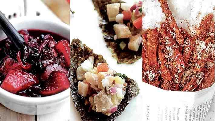 Cocina: Tres recetas de picoteos de Dani Castro