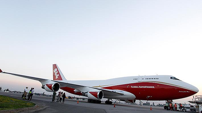 Global SuperTanker ofreció avión en US$ 10 millones antes de donación de Lucy Ana Avilés