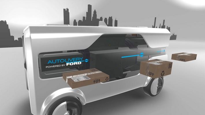 Este es el furgón de futuro, según Ford