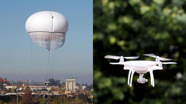 Drones y globos de vigilancia municipal deben ser usados con fines exclusivos de seguridad y sólo en lugares públicos