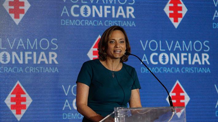 Carolina Goic llama a la unidad de la DC en Junta Nacional marcada por el tema presidencial