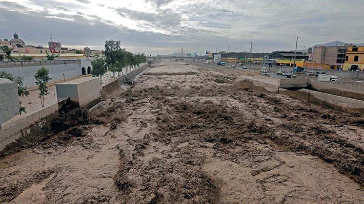Inundaciones provocan desastres en Perú por fuerte temporal